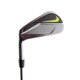 New Nike Vapor Pro Forged Blade 5-Iron Black Gold X-Flex Steel LEFT HANDED