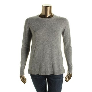 Dylan Gray Womens Tunic Sweater Cashmere Crew Neck
