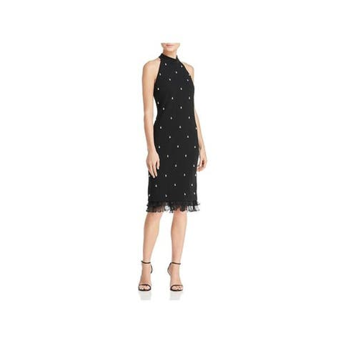 Laundry by Shelli Segal Cocktail Dress, Black, 2