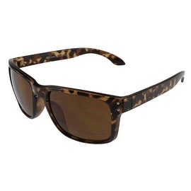Unisex Sports Style Sunglasses with Keyhole Bridge