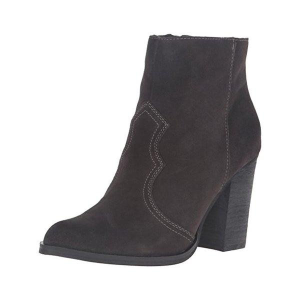 Dolce Vita Womens Caillin Booties Suede Pointed Toe