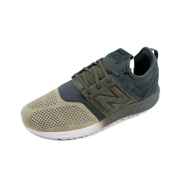 Shop New Balance Men s 247 Green Tan MRL247UC Size 8 - Free Shipping ... 3a8357530f