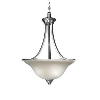 Woodbridge Lighting 21022 Marissa 3 Light Satin Nickel Pendant