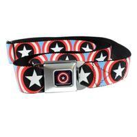 Captain America Shield Seatbelt Belt