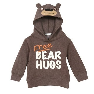 Artisans Toddler Bear And Deer Hoodies - Children's Animal Hooded Sweatshirts
