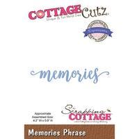 "Cottagecutz Expressions Plus Die-Memories 4.2""X.8"""
