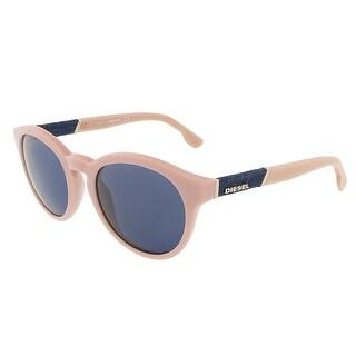 Diesel DL0115/S 72V Baby Pink Round sunglasses - 51-20-140