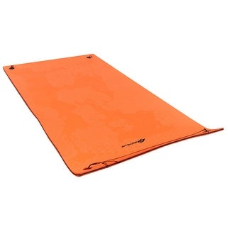 Goplus 3 Layer Water Mat Floating Pad Island Water Sports Recreation Relaxing Tear-resistant 12' x 6'