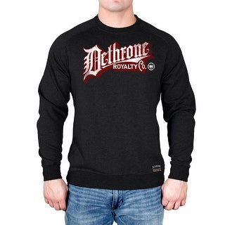 Dethrone Vintage Mark Crewneck Sweatshirt - Charcoal Heather