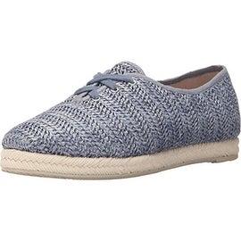 Dolce Vita Womens Jacky Round Toe Fashion Sneaker Oxfords - 7.5 medium (b,m)