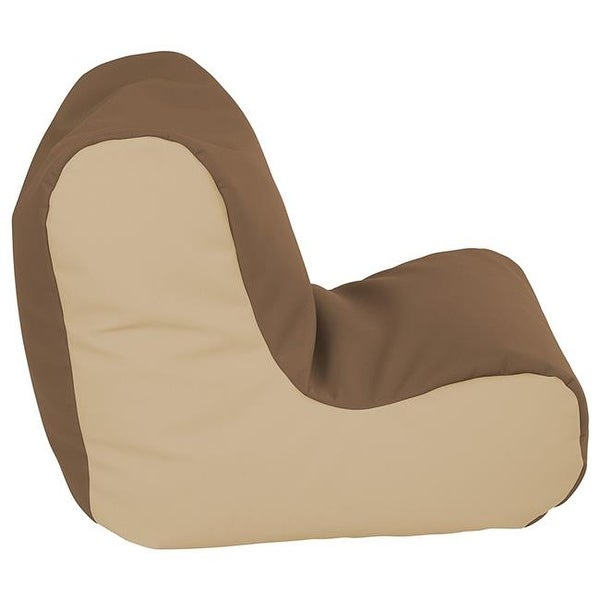 Ecr4kids Softzone Toddler Bean Bag Soft Seat Chocolate And Sand Free Shipping Today 24781106