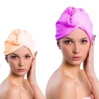 Towel Hair Drying Cap (3-pieces pack)