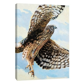 "PTM Images 9-105454  PTM Canvas Collection 10"" x 8"" - ""Northern Harrier"" Giclee Birds Art Print on Canvas"