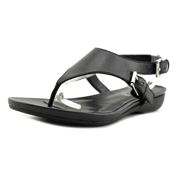 Lauren Ralph Lauren Kasia-Sn Women Open Toe Leather Thong Sandal