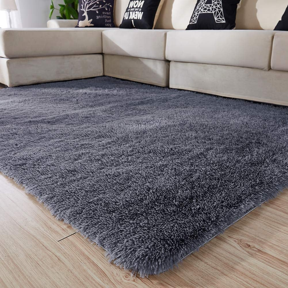 Shop Girls Boys Bedroom Rug Home Furniture 4x5 3 Feet Rectangular Gray Big Overstock 30313995