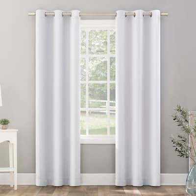Sun Zero Riley Kids Bedroom Blackout Grommet Curtain Panel, Single Panel