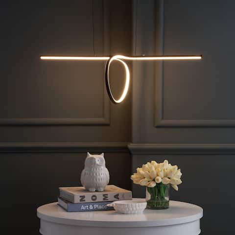 """Ali 34.5"""" Dimmable Adjustable Integrated LED Pendant by JONATHAN Y"""