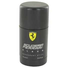 Ferrari Scuderia Black by Ferrari Deodorant Stick 2.5 oz - Men