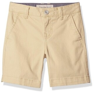 Calvin Klein Kids Boys 8-20 Shift Flat Front Short (2 options available)