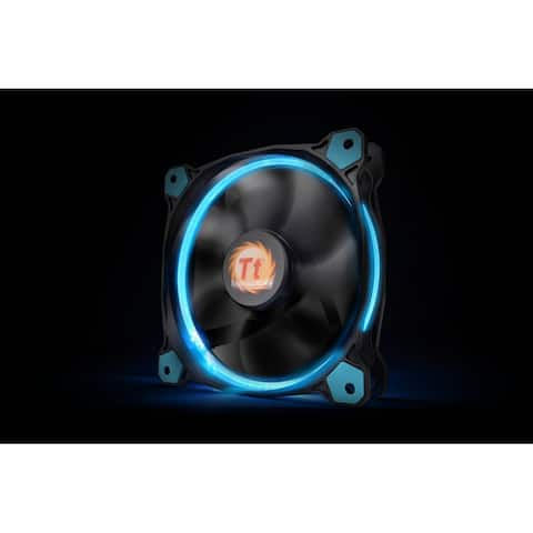Thermaltake Riing 12 120mm Blue LED Ring Case/Radiator Fan CL-F038-PL12BU-A