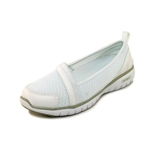 Propet Travellite Slip-On Women 2A Round Toe Synthetic White Loafer