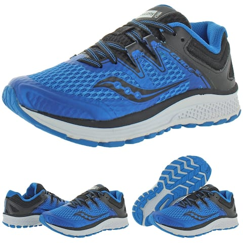 Saucony Boys Guide ISO Running Shoes Performance Lace Up