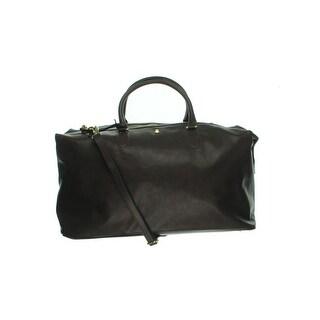 London Fog Womens Brunswick Duffle Handbag Convertible Signature - Extra large