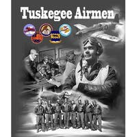 ''Tuskegee Airmen'' by Anon African American Art Print (24 x 20 in.)