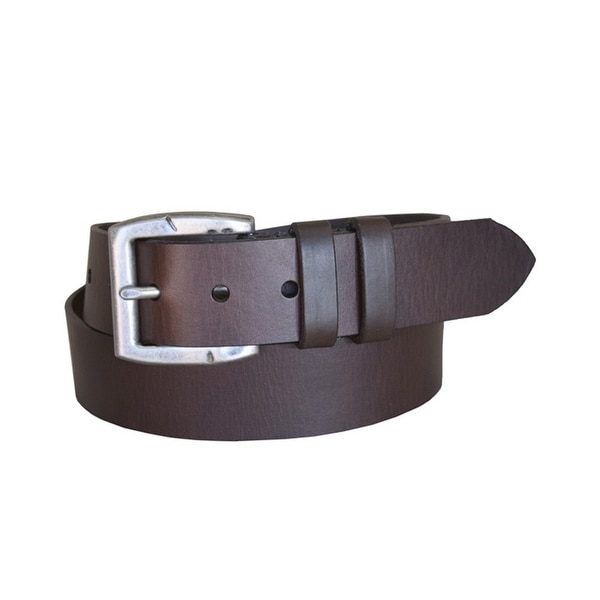 Lejon Western Belt Mens Carry The Line Leather Brown