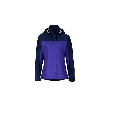 Marmot Women's PreCip Jacket, Royal Night/Arctic Navy, X-Small