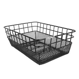 SUNLITE Basket Rear Wire/Mesh Ractop Black 15X10.25X5 - TL-904MR