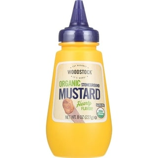 Woodstock Farms - Organic Stoneground Mustard ( 12 - 8 OZ)