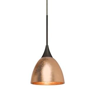 "Besa Lighting 1XT-1758CF Divi Single Light 3-3/8"" Wide Mini Pendant"