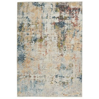 Link to Nourison Trance Abstract Area Rug Similar Items in Transitional Rugs