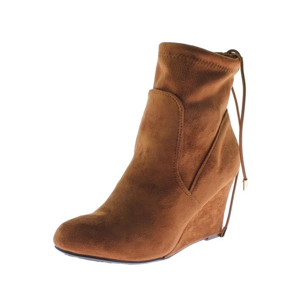 Chinese Laundry Womens Unnie Booties Microsuede