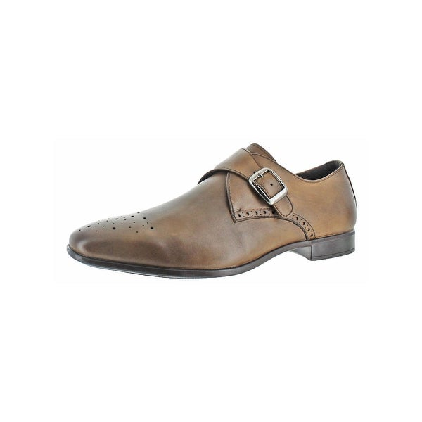 Charles Jourdan Mens Jean Monk Shoes Slip On Brogue