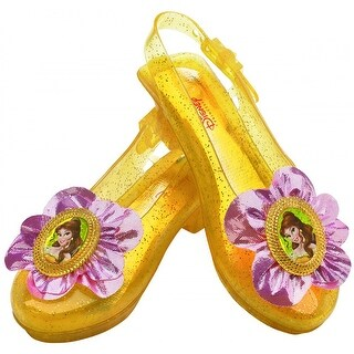 Belle Sparkle Shoes Child Costume Accessory
