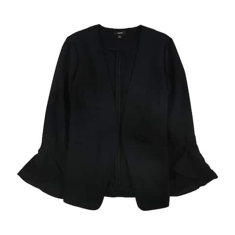 Alfani Womens Flutter Blazer Jacket, black, PS