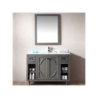 "Miseno MV-SPA48 Spazio 48"" Free Standing Vanity with Vanity Top and Undermount Sink"