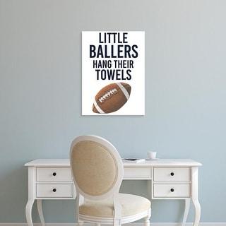 Easy Art Prints Studio W's 'Little Ballers III' Premium Canvas Art