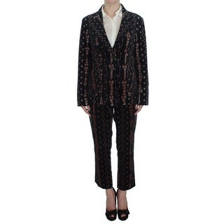 BENCIVENGA BENCIVENGA Black Wool Stretch Suit - it44-xs