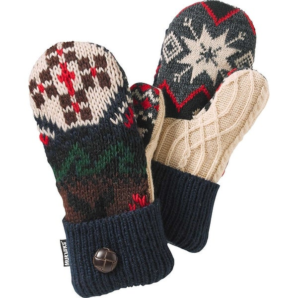 Legendary Whitetails Ladies Lodge Pot Holder Mittens - Navy - One size