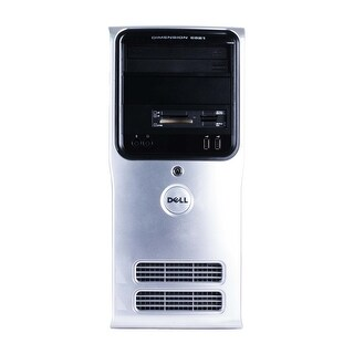 Dell Dimension E521 Computer Tower AMD Athlon 64 x 2 3600+ 1.9G 2GB DDR2 160G Windows 10 Home 1 Year Warranty (Refurbished)