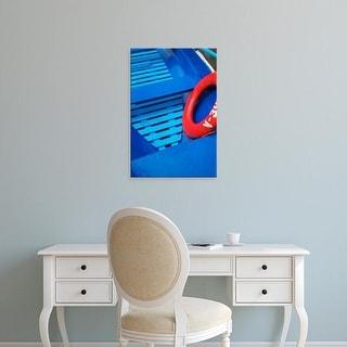 Easy Art Prints Keren Su's 'Colorful Boats On Lake Galve' Premium Canvas Art
