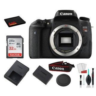 Link to Canon EOS Rebel T6s Digital SLR Camera (Black, Body Only) with Similar Items in Digital Cameras