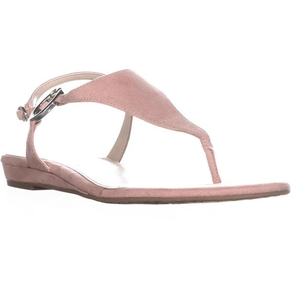 A35 Honnee Flat Thong Sandals, Pink Blush