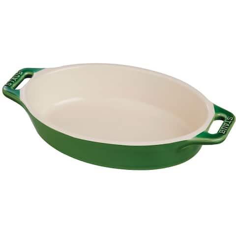Staub Ceramic 14.5-inch Oval Baking Dish