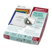 C-Line 62127 Project Folders  Jacket  Letter  Poly  Clear  25/Bx