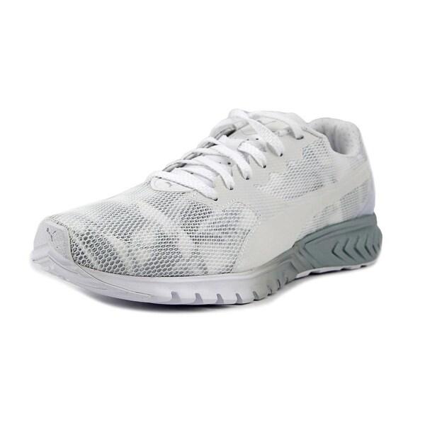 Puma Ignite Dual Swan Women Puma White-Quarry Tennis Shoes