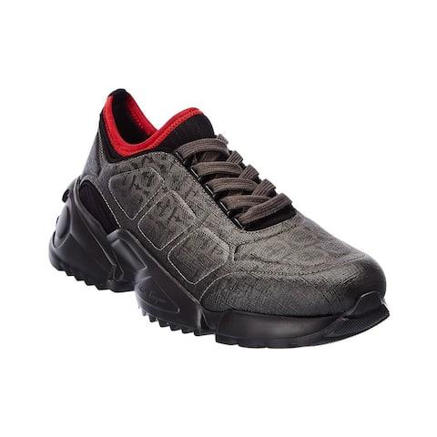 Salvatore Ferragamo Rubik Leather Sneaker